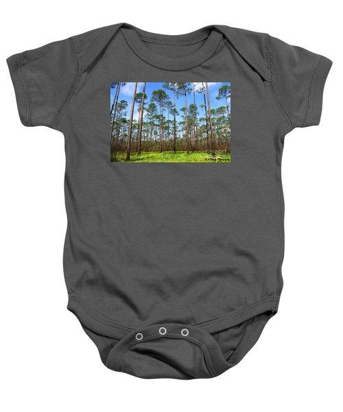 Appalachicola National Forest Baby Onesie