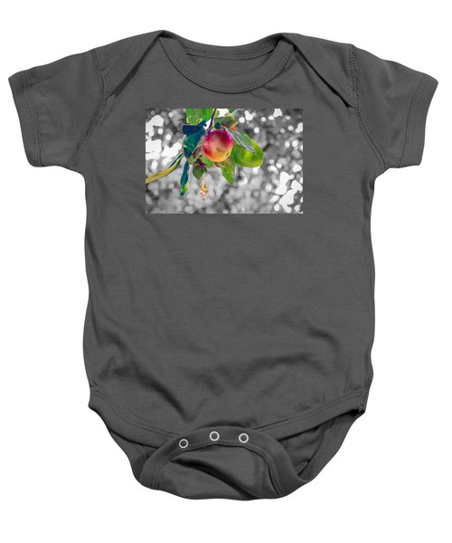 Apple And The Diamond Baby Onesie
