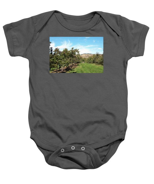 Apple Picking Baby Onesie