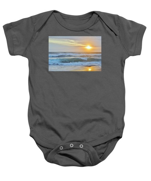April Sunrise  Baby Onesie