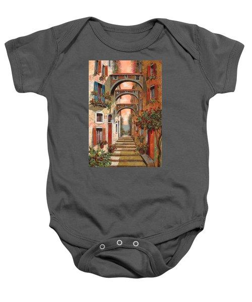 Archetti In Rosso Baby Onesie