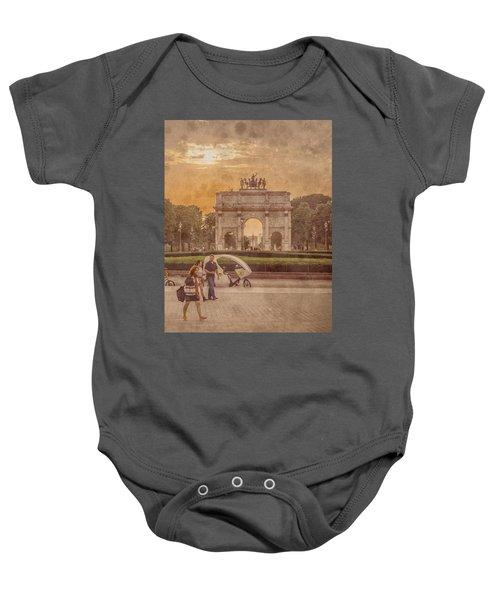 Paris, France - Arcs Baby Onesie