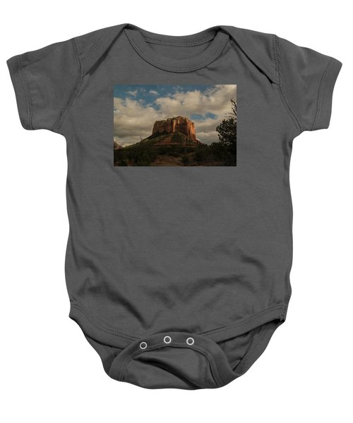 Arizona Red Rocks Sedona 0222 Baby Onesie by David Haskett