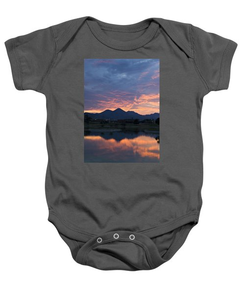 Arizona Sunset 2 Baby Onesie