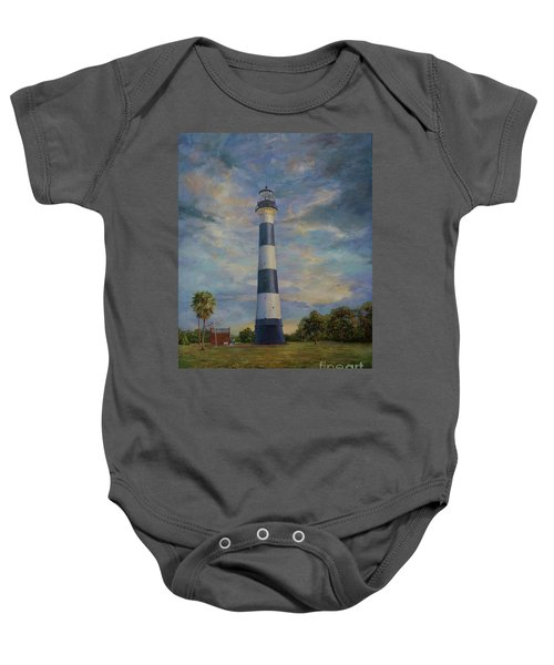 Armadillo And Lighthouse Baby Onesie