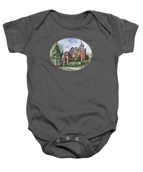 Armstrong Mansion Baby Onesie