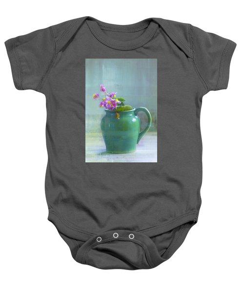 Art Of Begonia Baby Onesie