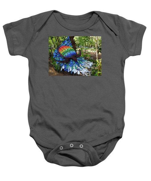 Art With Recycling - Turtle Baby Onesie
