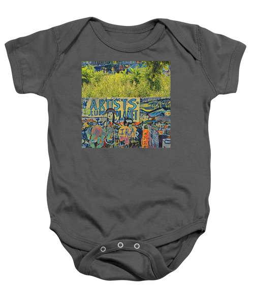 Artists Run The Planet Baby Onesie