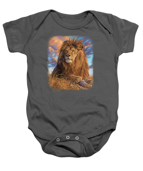 Watchful Eyes Baby Onesie by Lucie Bilodeau