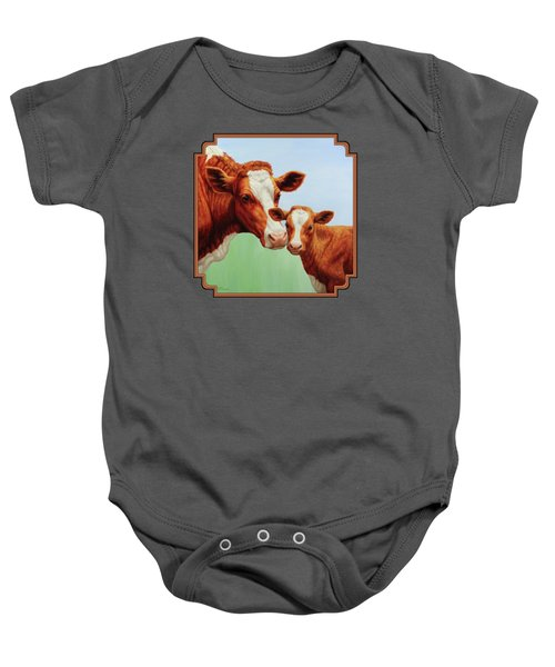 Cream And Sugar Baby Onesie