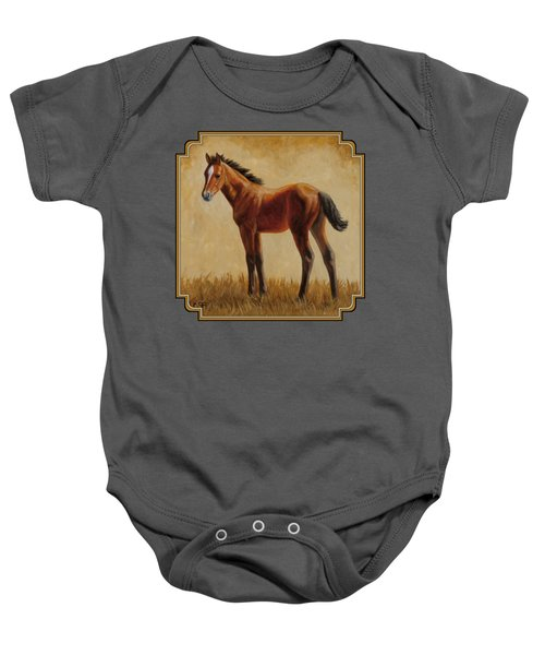 Afternoon Glow Baby Onesie by Crista Forest