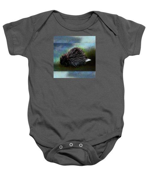 Porcupine Baby Onesie