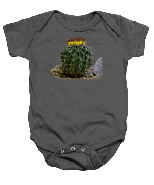 Barrel Against Wall No50 Baby Onesie