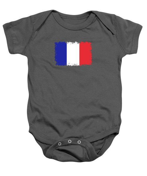 Flag Of France High Quality Authentic Image Baby Onesie