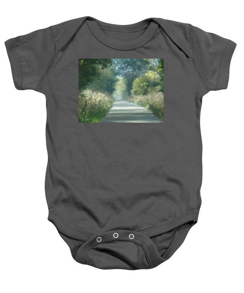 The Road Back Home Baby Onesie