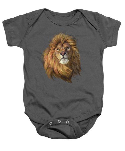 African Lion Baby Onesie