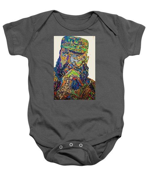 Fidel El Comandante Complejo Baby Onesie