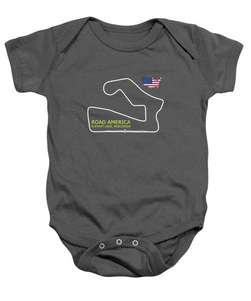 Road America Circuit Baby Onesie