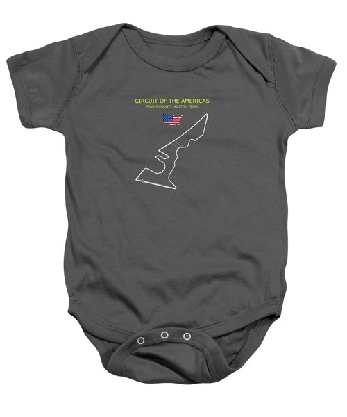 The Circuit Of The Americas Baby Onesie