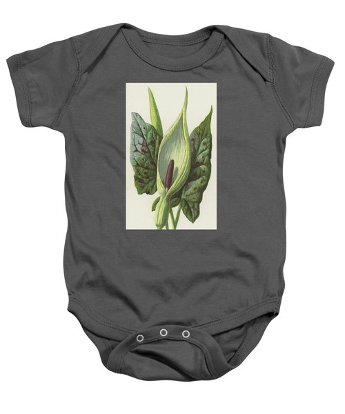 Arum, Cuckoo Pint Baby Onesie