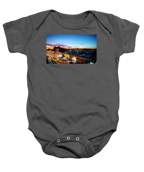As Night Falls Baby Onesie