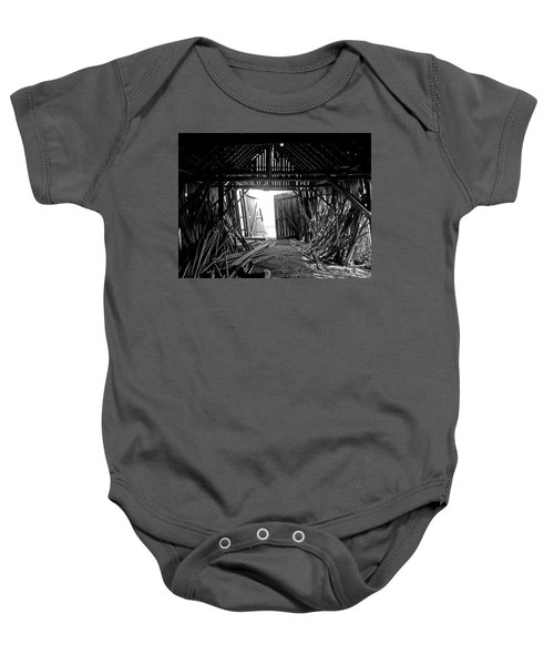As Time Goes By Baby Onesie
