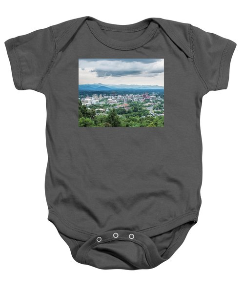 Asheville Afternoon Cropped Baby Onesie
