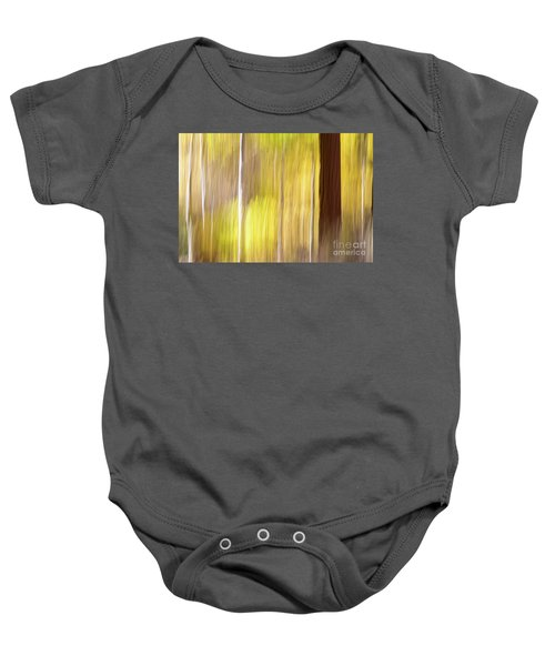 Baby Onesie featuring the photograph Aspen Blur #1 by Vincent Bonafede