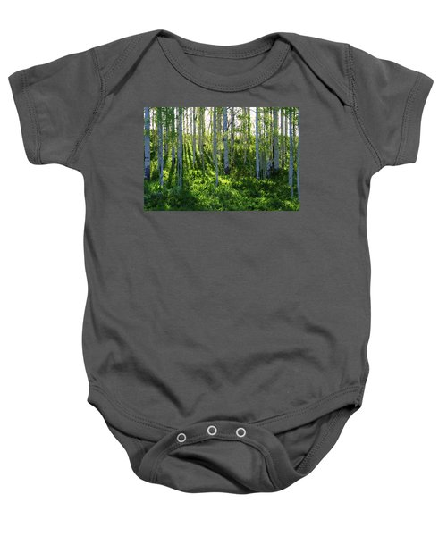 Aspen Morning 1 Baby Onesie