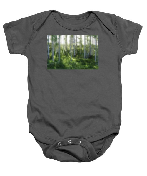Aspen Morning 2 Baby Onesie