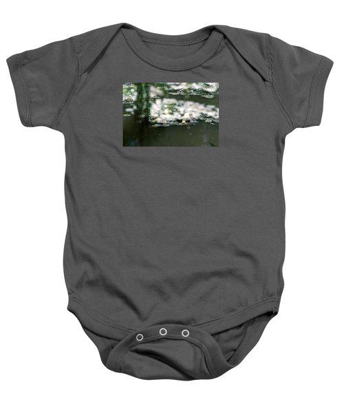 Baby Onesie featuring the photograph At Claude Monet's Water Garden 5 by Dubi Roman