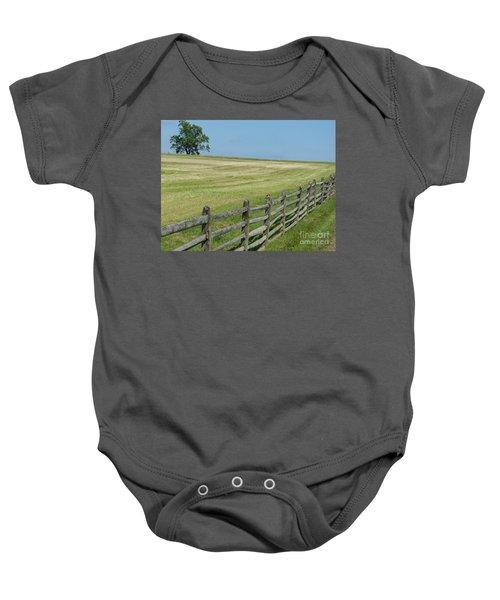 At Gettysburg Baby Onesie