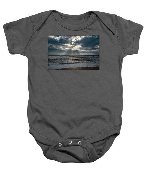 At The Beach Baby Onesie