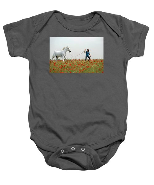 At The Poppies' Field... 2 Baby Onesie