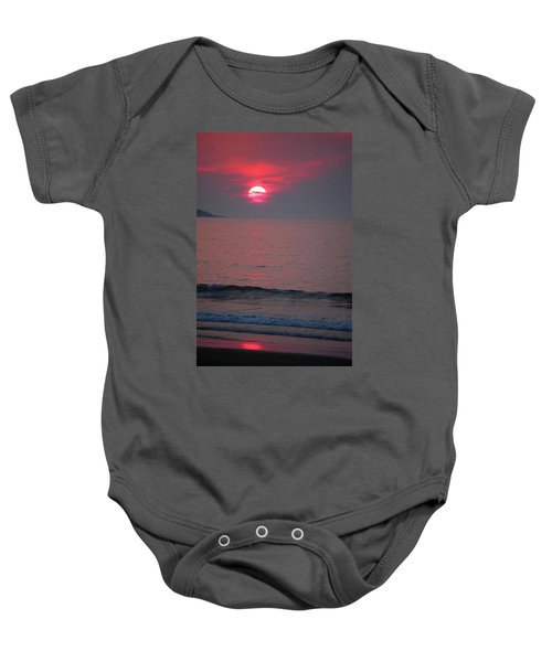 Atlantic Sunrise Baby Onesie