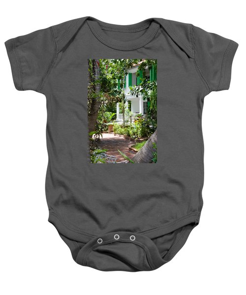 Audubon House Entranceway Baby Onesie