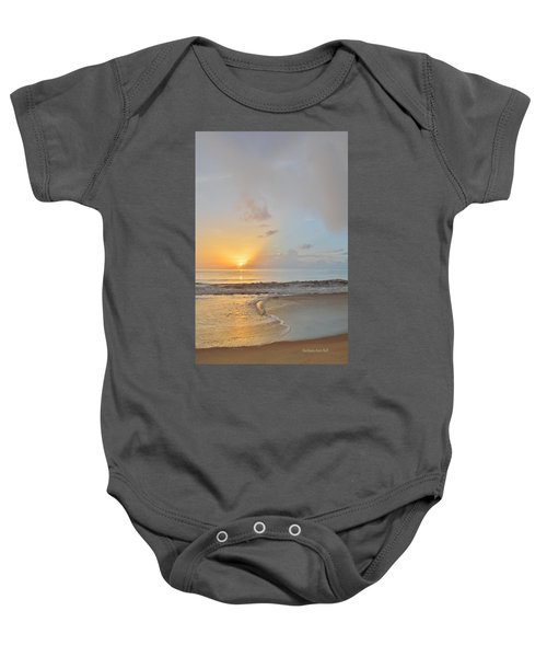 August 10 Nags Head Baby Onesie