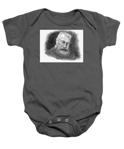 Auguste Rodin Baby Onesie