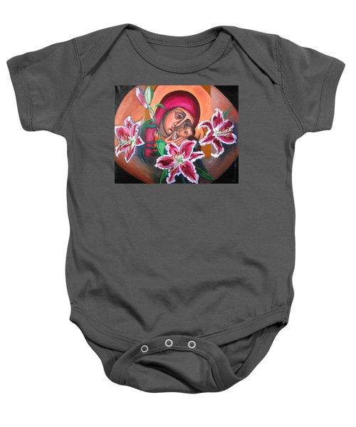 Aunt Katya's Icon Baby Onesie
