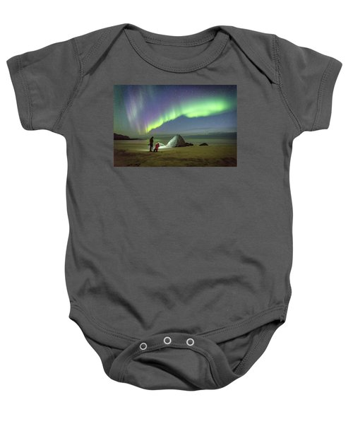 Aurora Photographers Baby Onesie