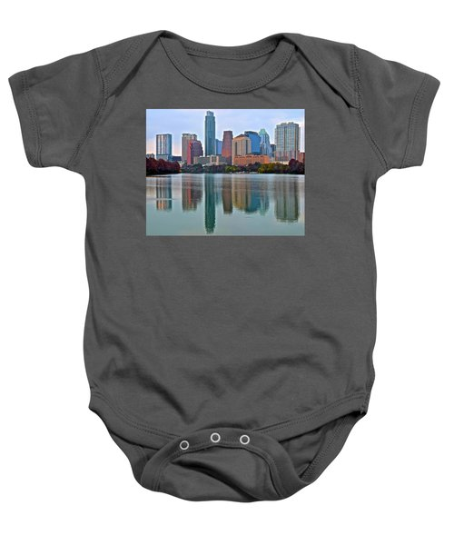 Austin Shimmer  Baby Onesie by Frozen in Time Fine Art Photography