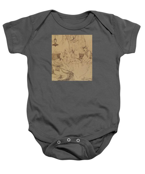 Autopsy At The Hotel-dieu Baby Onesie