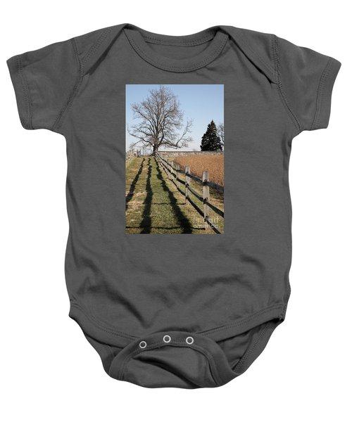 Autumn At Antietam Baby Onesie