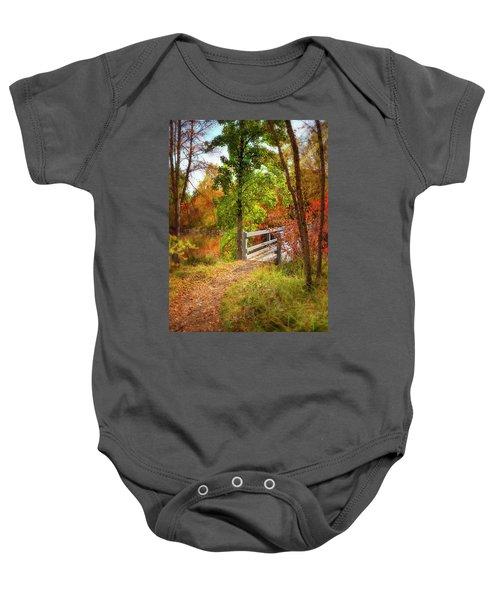 Autumn Bridge Baby Onesie
