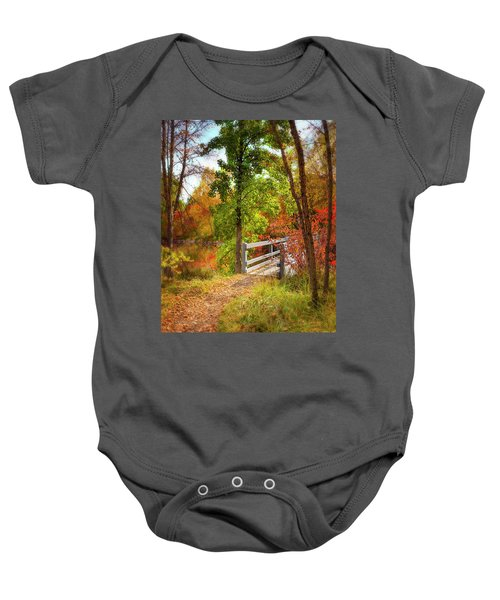 Autumn Bridge Baby Onesie