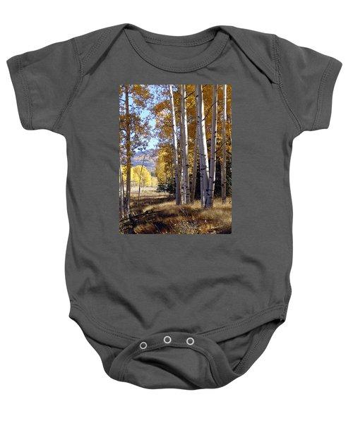 Autumn Chama New Mexico Baby Onesie