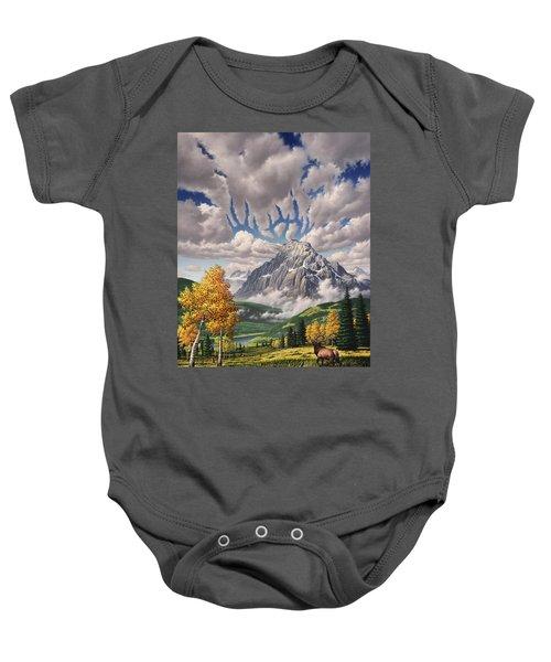 Autumn Echos Baby Onesie