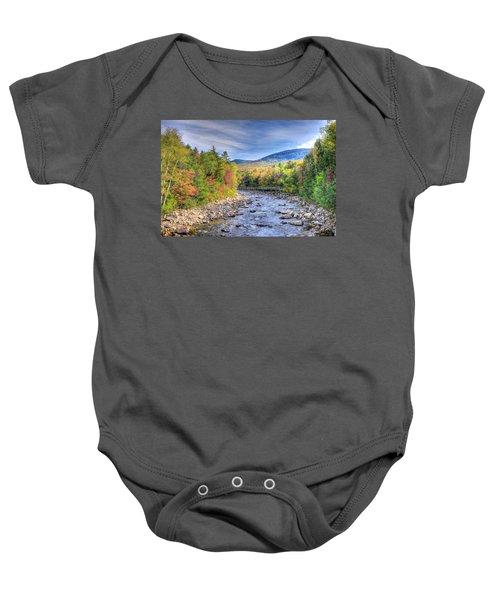 Autumn In New Hampshire Baby Onesie