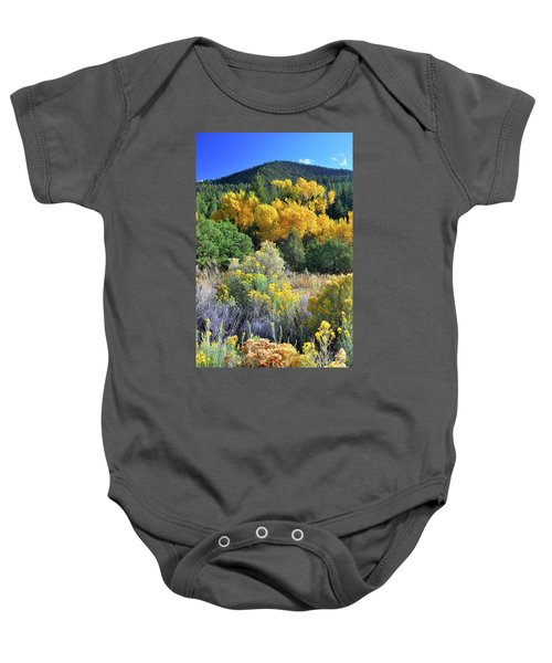 Autumn In The Canyon Baby Onesie